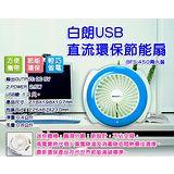 BRANTD白朗 USB 直流環保節能扇 BFS-450 兩入裝