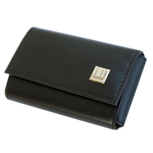 【dunhill】雙色皮革袖扣包