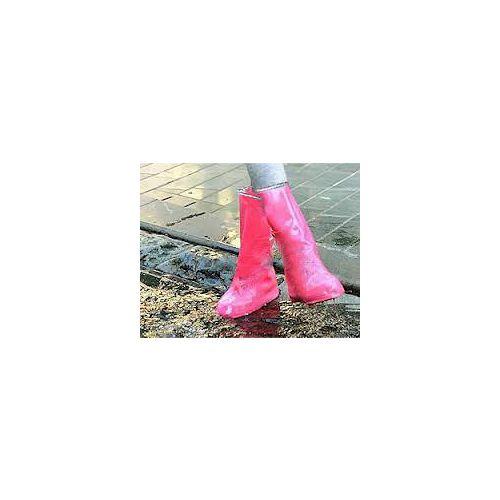 ~PS Mall~可重覆用防雨鞋套 長透明款非拉鍊_2雙入 ^(J1172^)