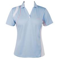 LACOYA  女短袖POLO衫(AP120-3水藍)