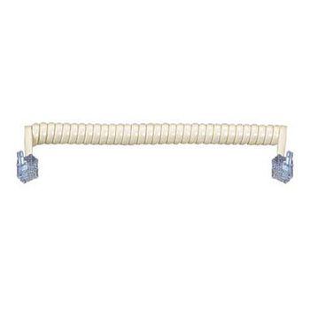 電話聽筒捲線(7尺/2.1米)/米色TEL-27