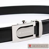 【MONTAGUT】夢特嬌自動扣紳士皮帶75402A