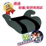 【媽咪抱抱】兒童安全帶增高坐墊(灰黑)-加贈安全帶固定器