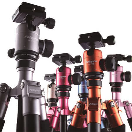 Fotopro TX-PRO1 鋁鎂合金炫彩系列專業三腳架.