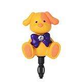可愛動物造型耳機防塵塞Orange PUPPY