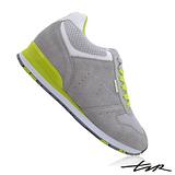 【T2R】玩色麂皮休閒隱形增高鞋 灰 ↑8cm 5500-0553