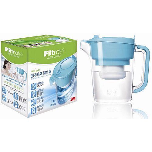 3M即淨長效濾水壺-晴空藍
