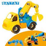 【美國B.Toys感統玩具】工程吊車_Battat系列