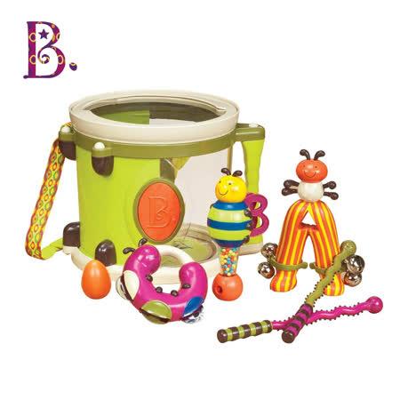 【美國B.Toys感統玩具】砰砰砰打擊樂團組合