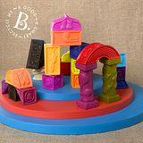 【美國B.Toys感統玩具】羅馬城堡