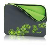 Genius GS-1401 14吋筆記型多彩高質感防水避震包(綠色)