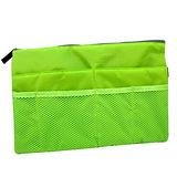 【iSFun】筆電可放*大型舖棉包中袋/綠