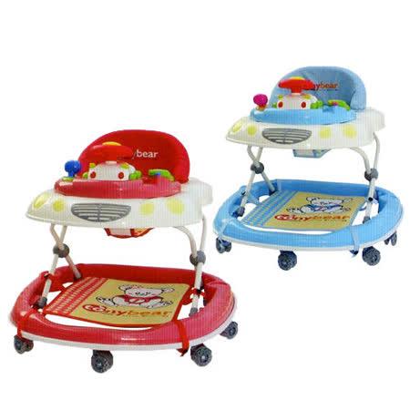 湯尼熊 Tony Bear 日式音樂學步車-(紅色/藍色)