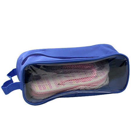 【iSFun】旅行專用*鞋用透視收納袋