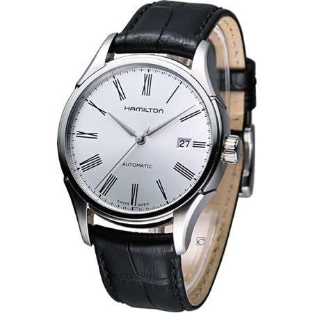 HAMILTON Classic 經典時尚機械錶(H39515754)白面皮