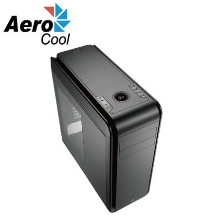 Aero cool DS-200 LITE 入門款(開窗側板)黑色 電腦機殼