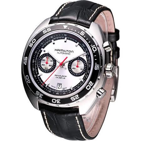 Hamilton Pan Europ 計時機械時尚錶(H35756755)白面