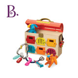 【美國B.Toys感統玩具】可麗特寵物診所