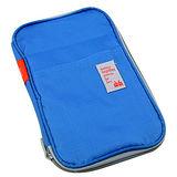 【iSFun】旅行專用*萬用(防潑水)證件包/藍
