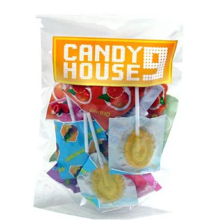 《CANDY HOUSE 9》果汁冰棒棒糖(100g)