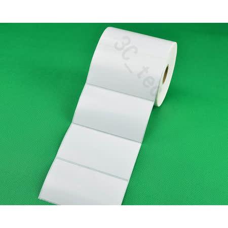 [銅版貼紙]  100x60mm 800張/卷 條碼機用條碼紙