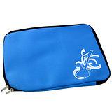 【iSFun】潛水布料*14吋筆電收納包/藍