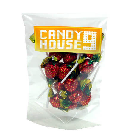 《CANDY HOUSE 9》草莓棒棒糖(100g)