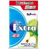 Extra潔淨無糖口香糖起值包-青蘋萊姆口味62g