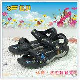 【G.P】新潮夢幻美鞋~立體雕花設計時尚超美涼鞋G7222W-10(黑色)共三色