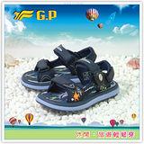 【GP】新款休閒舒適系列快樂童涼鞋-G7218B-20(藍色)共三色
