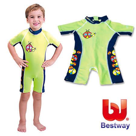 (購物車)《購犀利》美國品牌【Bestway】兒童UPF50+抗UV防曬連身泳衣-女、男