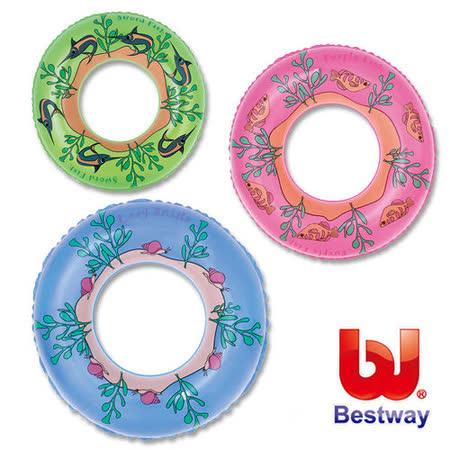 (購物車)《購犀利》美國品牌【Bestway】22吋可愛生物造型設計家充氣泳圈(款式隨機出貨)