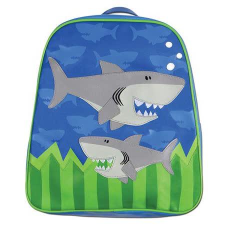 Stephen Joseph GOGO美式兒童造型防水背包(鯊魚)