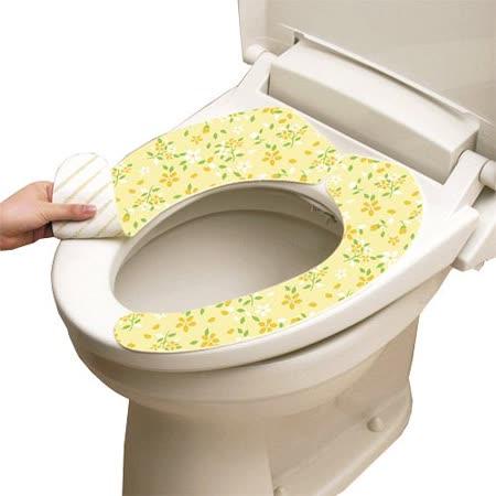 【好物分享】gohappy 購物網日本LEC抗菌防臭馬桶座墊貼--粉黃花卉效果好嗎大里 愛 買