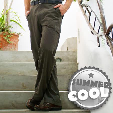 【瑞多仕-RATOPS】男款 SUPPLEX快乾休閒長褲(修長版)/橄欖綠 DA3140 B