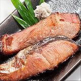 《任選》《台北濱江》薄鹽鱒鮭(1包/4片)