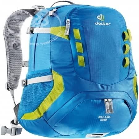 【德國 Deuter】SUB 26L 拔熱透氣休閒旅遊背包/80132 藍/綠