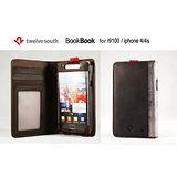 美國Twelve South BookBook多功能Samsung S2/i9100復古書皮套