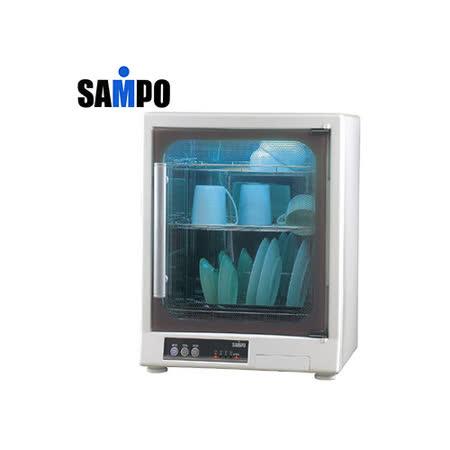 【勸敗】gohappy快樂購物網『SAMPO』☆聲寶 三層光觸媒紫外線烘碗機 KB-GD65U推薦大 元 百 威 秀