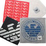 【Emporio Armani 】老鷹標誌柔綿小方巾。多款任選均一價