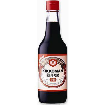 統一龜甲萬甘醇醬油玻璃瓶500ml