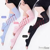 美麗焦點。(2雙組)140-240D超細纖維螺旋睡眠大腿襪2393
