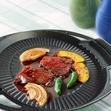 韓國最新火烤兩用烤盤@橢圓盤