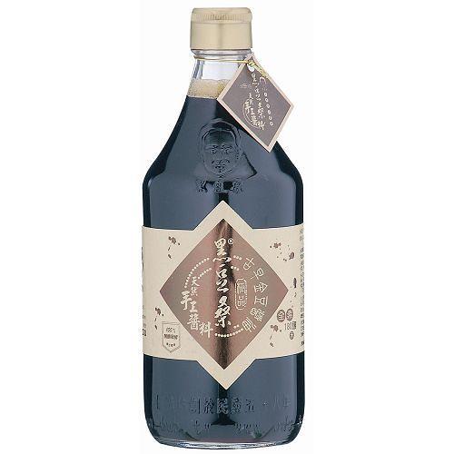 屏東黑豆桑純釀古早金豆醬油600g(550ml)