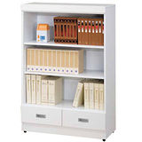 《顛覆設計》小雅書居2.7尺開放書櫃/收納櫃(二抽)