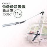 【CHIMEI奇美】知視家座式雙臂LED護眼檯燈(銀色) DD2C