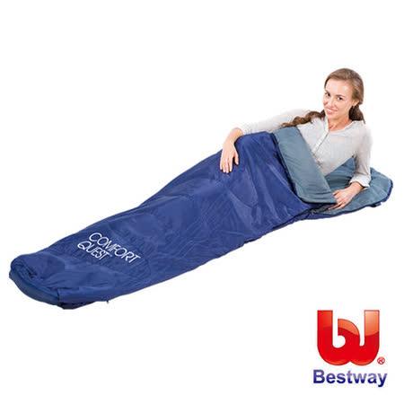 《購犀利》美國品牌【Bestway】87x30x20吋木乃伊型睡袋