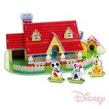 《購犀利》美國品牌【Disney】迪士尼系列益智立體拼圖-米奇米妮遊戲屋