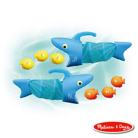 美國 Melissa & Doug 斯巴克鯊魚追捕遊戲組
