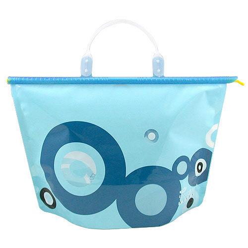 ~iSFun~蔚藍圓點~密封式防水提包